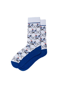 BIKE BLUE SOCKS