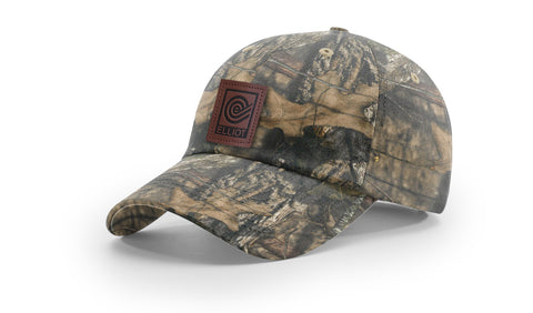 Unstructured Twill Camo Hat