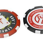 """Don't Gamble with Safety"" Poker Chips"