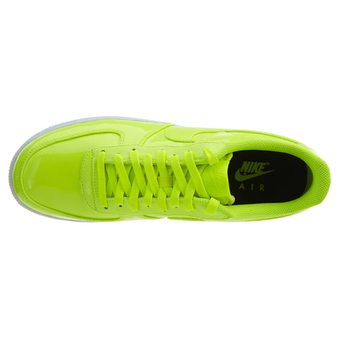 Nike Air Force 1 07 Lv8 Patent Leather Volt Neon Mens