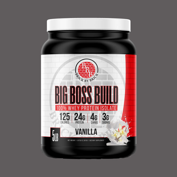 Big Boss Build (Whey Protein)