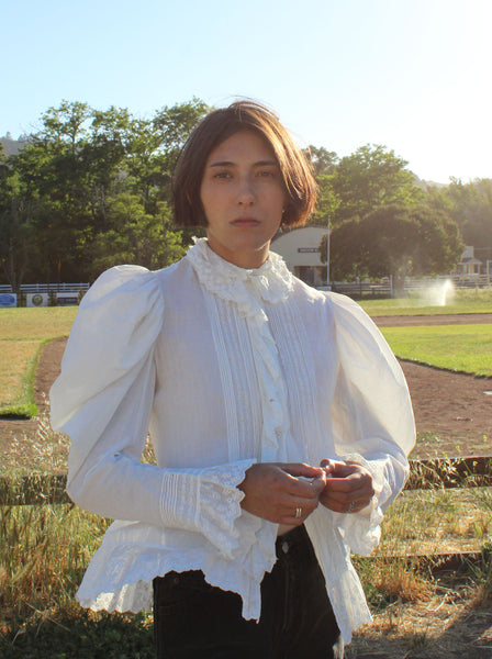 Edwardian Cotton Top