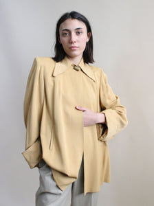 1940s Butterscotch Coat