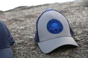Range Hat Gray and Navy - Wings Out Industries Police