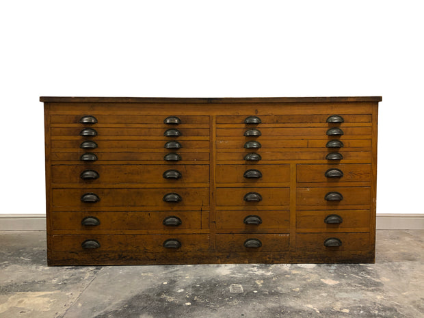 Vintage Industrial Haberdashery Chest Of Workshop Drawers