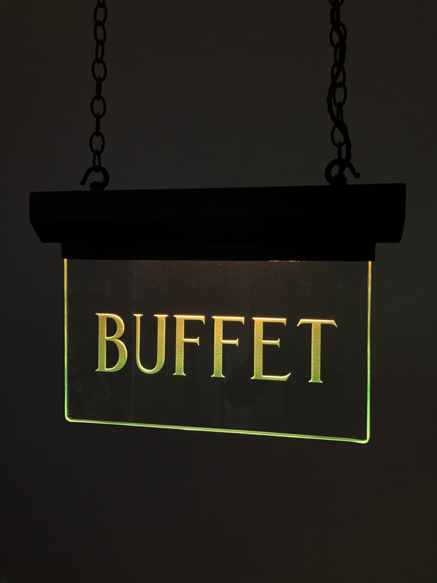 Antique Vintage Art Deco Internalite Illuminated Buffet Advertising Sign