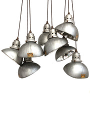 Antique Mirrored Glass GECoRAY Pendant Lights