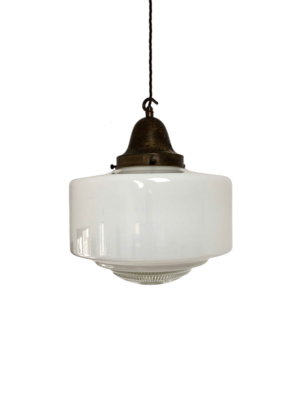 Diffused Opaline Glass Ceiling Pendant Church Light