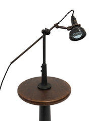 Singer Sewing Machinist Factory Task Lamp
