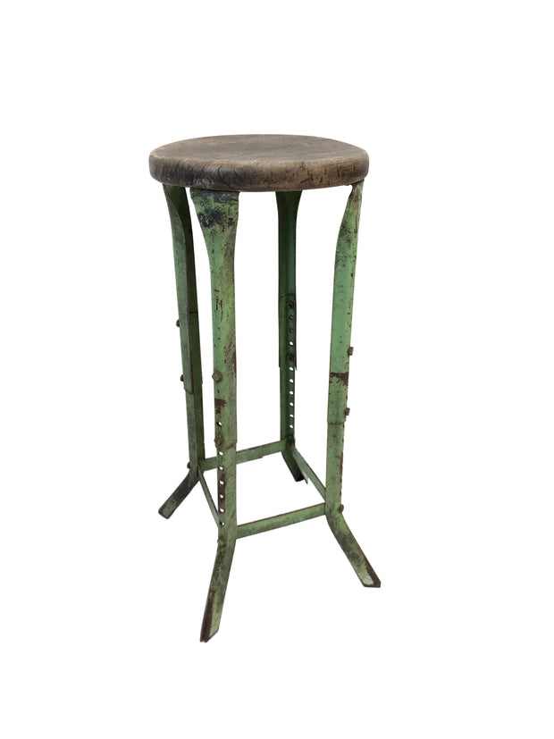 Vintage Industrial Antique Engineers Stool