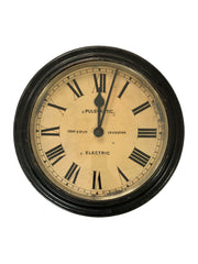 Vintage Antique Gents Of Leicester Railway Wall Clock