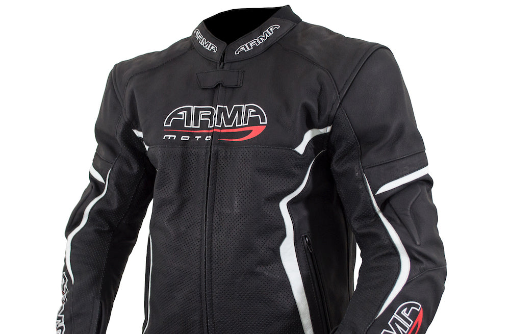 Armr Leather Motorcycle Jacket