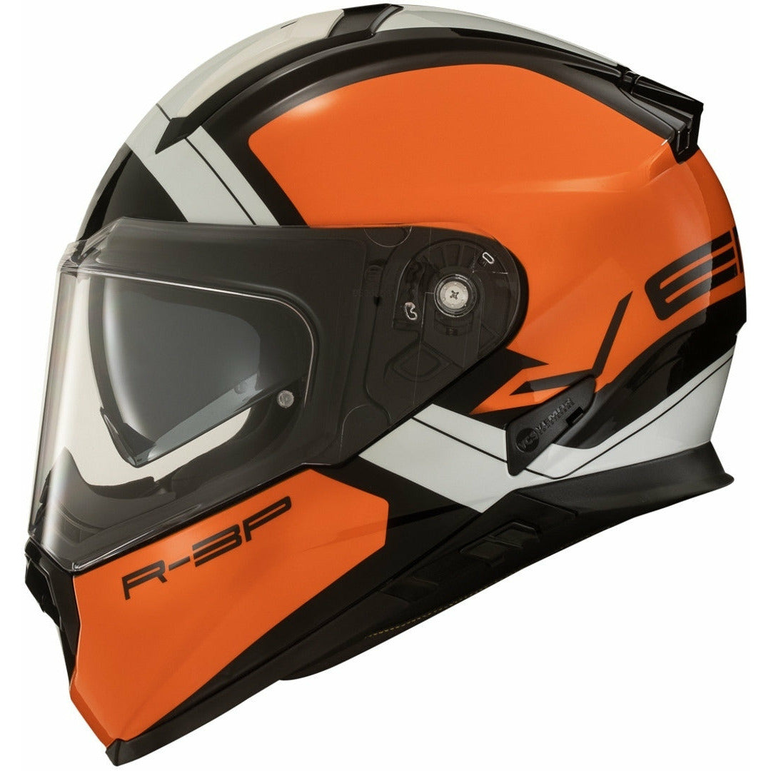 Vemar Zephier Mars Full Face Helmet - Orange