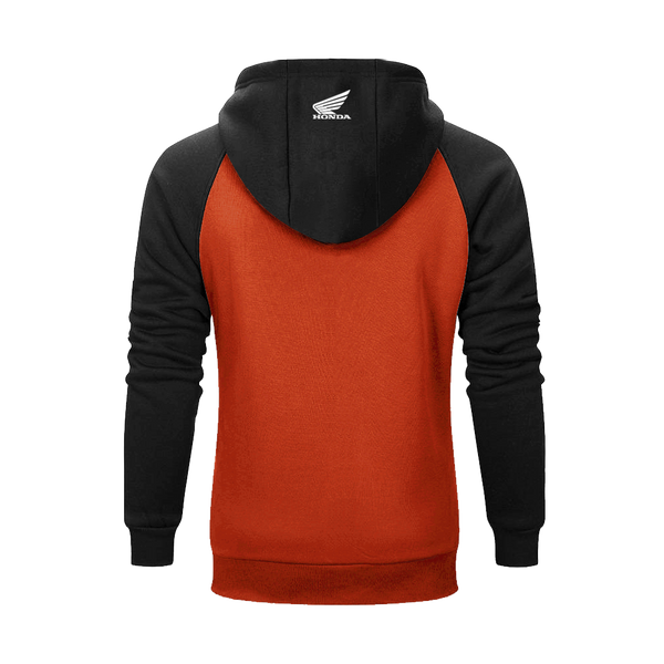 Honda Vintage Hoodies - Making Legends - Orange