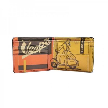 Vespa Leather Wallets