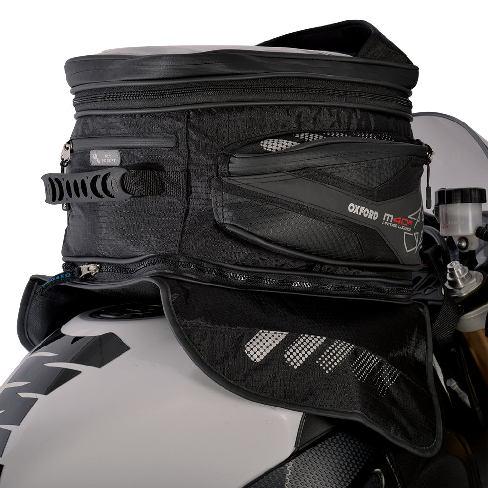 Oxford M40R Magnetic Tank Bag - 40 Litre