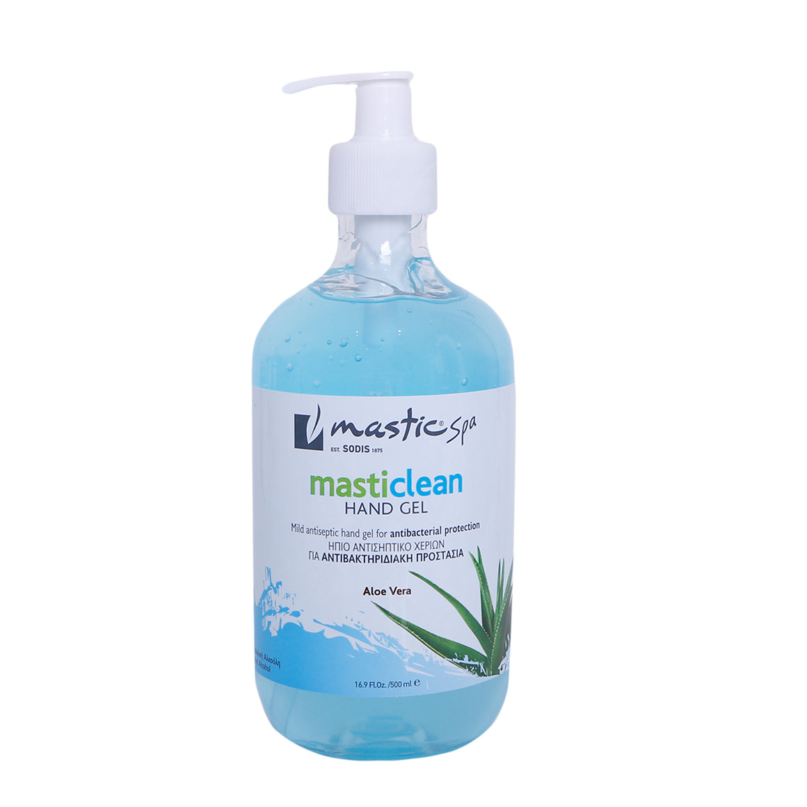 MASTIC CLEAN ALOE 500ML | 5 τεμάχια
