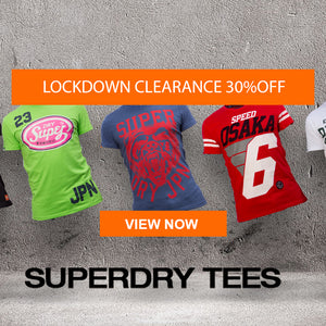 Lock down sale superdry