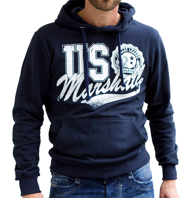 US Marshall Sweater Navy blue - - Labels4Less