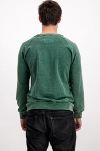 "Diesel Men's ""Only The Brave"" Sweater In Green - Labels4Less"