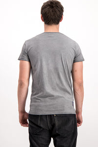 "Diesel Men's ""Only the Brave"" T-shirt In Grey"