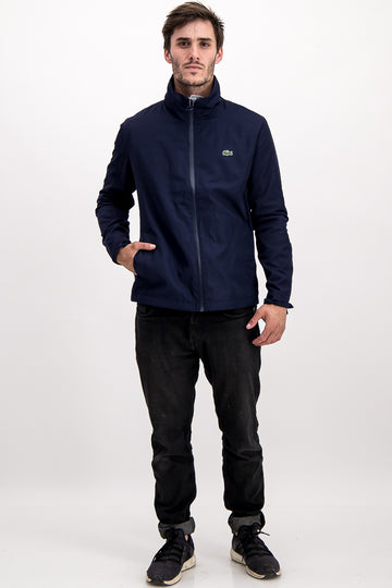 Lacoste Men's Winbreaker In Navy Blue