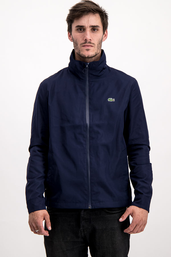 Lacoste Men's Winbreaker In Navy Blue - Labels4Less