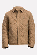 Lacoste SPORT Men's Puffer Jacket In Tan