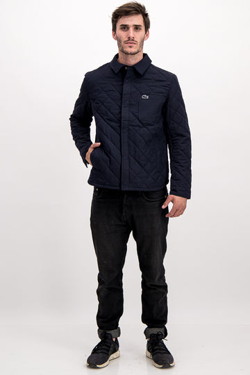 Lacoste SPORT Men's Jacket In Navy Blue