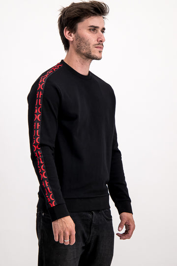 Hugo Boss Men's Tracksuit Top In Black