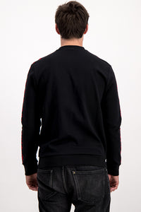 Hugo Boss Men's Tracksuit Top In Black - Labels4Less