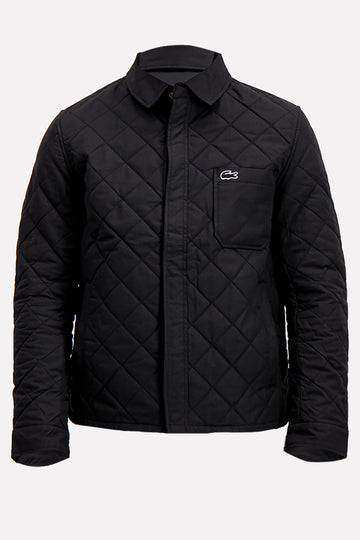Lacoste SPORT Men's Puffer Jacket In Black