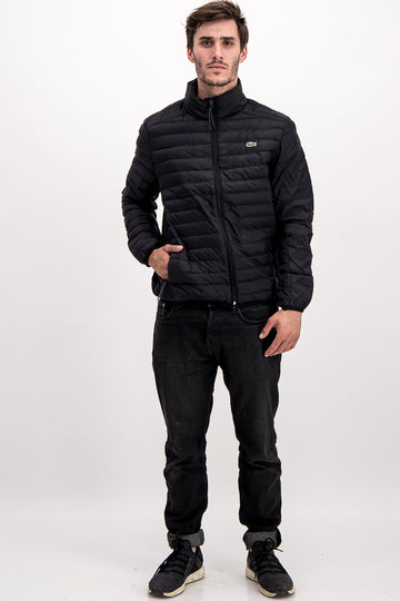 Lacoste Men's Puffer Jacket In Black