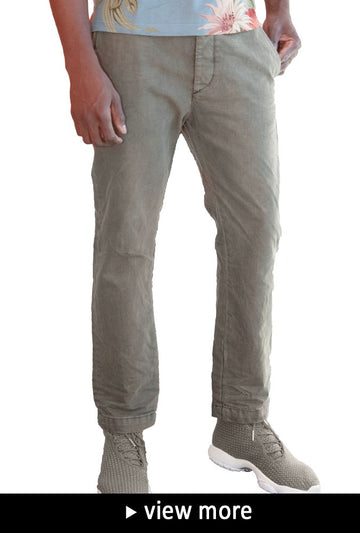 Diesel Men's Chi-pulice-al Chino's In Green
