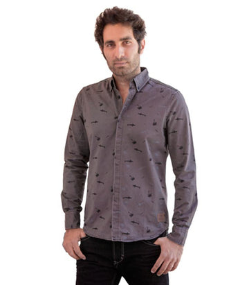 Scotch & Soda printed shirt