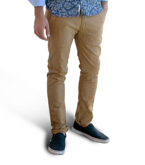 Scotch & Soda chino dark beige - Labels4Less
