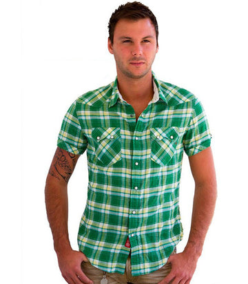 Replay Men shirt short sleeve