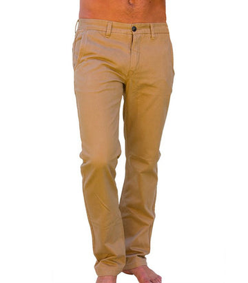 Superdry Men's Regular Fit Khaki Chinos