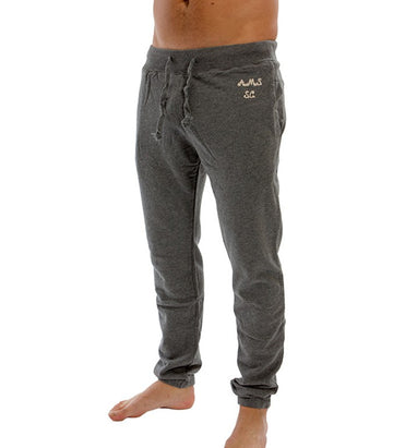 Scotch & Soda jogger grey with embroidery