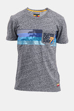 Superdry Men's Surf No.7 T-shirt In Grey - Labels4Less