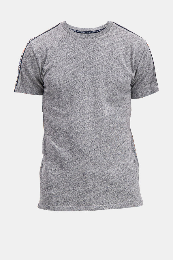 Superdry Men's Athletics T-shirt In Grey - Labels4Less