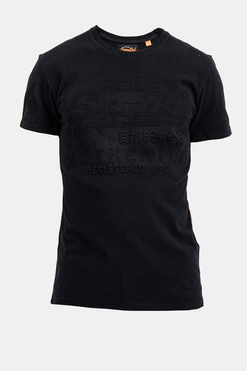 Superdry Men's Real Authentic T-shirt In Black