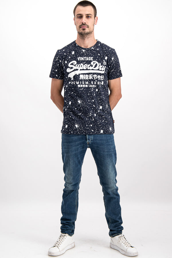 Superdry Men's Vintage Premium Goods In Black - Labels4Less