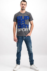 Superdry Men's Sport T-Shirt In Grey