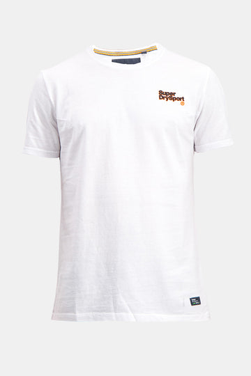Superdry Men's Sport T-shirt In White
