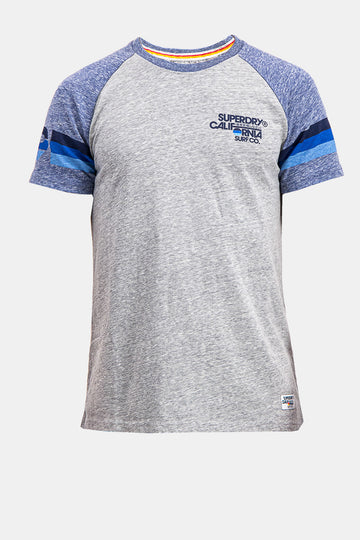 Superdry Men's California Surf Co. T-shirt In Grey
