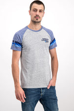 Superdry Men's California Surf Co. T-shirt In Grey - Labels4Less