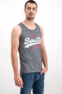 Superdry Men's Real Vintage Vest In Grey - Labels4Less