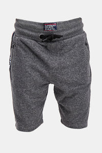 Superdry Men's Sports Athletic Shorts In Grey - Labels4Less
