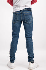 Diesel Men's Sleenker 084EJ Slim-Skinny Jeans In Dark Blue - Labels4Less